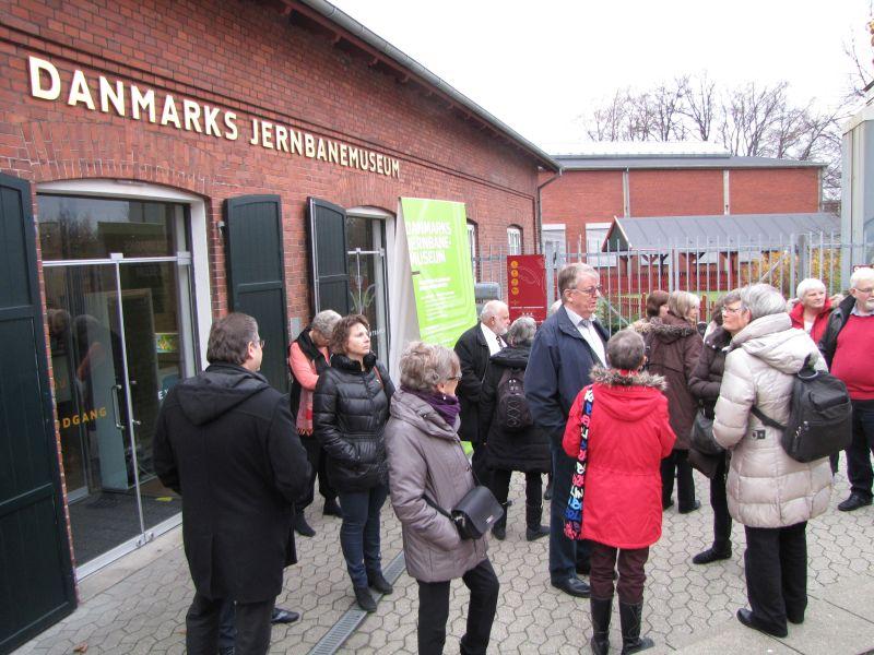 Jernbanemuseet I Odense November Hedorfs Seniorforening